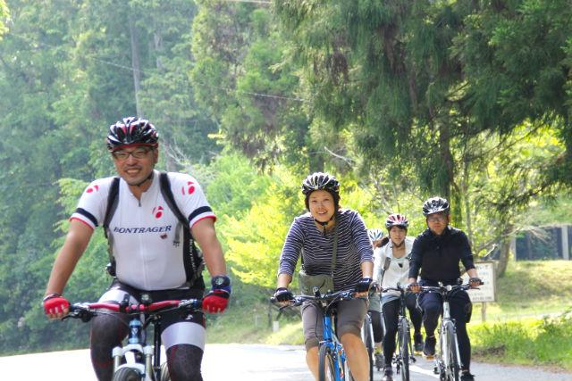 【京都・サイクリング】森の京都で森林浴にグルメも堪能!スポーツサイクリングツアー