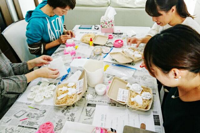 【福岡・アロマオイル手作り】香りの石膏インテリア!アロマハイストーン体験レッスン