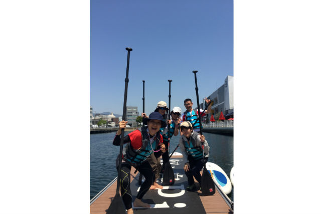 【兵庫・神戸・SUP】兵庫運河でできるお手軽SUP体験!