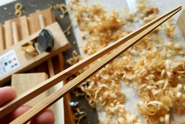 【鳥取・竹細工】自分好みのお箸が完成!竹箸作り