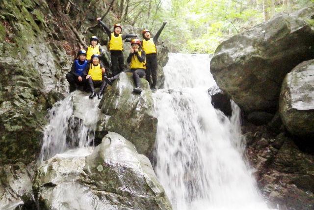 【徳島・シャワークライミング】祖谷渓シャワークライミング・チャレンジコース(中学生以上)