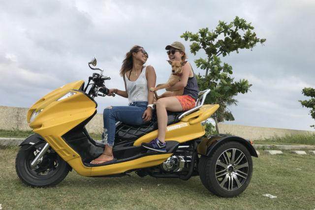 【石垣島・ツーリング】三輪バイクで風を感じよう!トライクツーリング体験