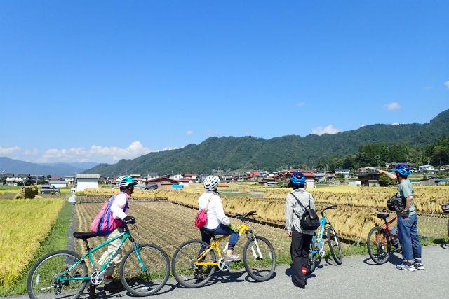 【岐阜・飛騨古川・サイクリング】飛騨の日常を体感。スタンダードサイクリングツアー