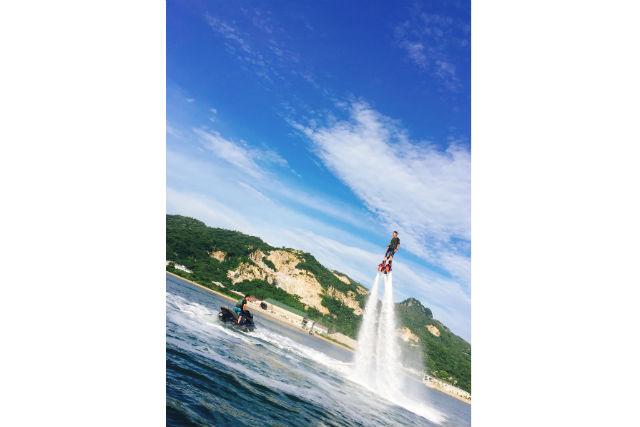 【香川・高松・フライボード】お子様と一緒に楽しめるフライボード20分体験コース