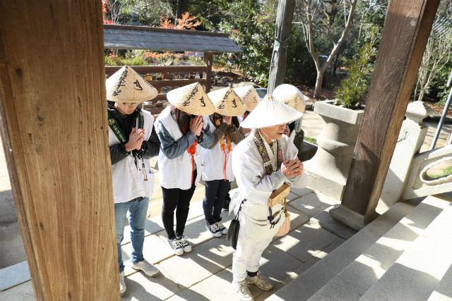 【香川・さぬき・お遍路】貸衣装付!のんびり3ヶ寺「結願ロードお遍路体験」