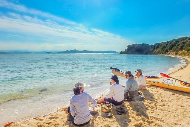 香川・小豆島・カヤック(半日・写真プレゼントクーポン付き)