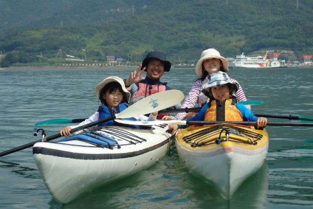 【香川・小豆島・カヤック】1日かけて、瀬戸内海でのカヤックを楽しもう!★写真プレゼント