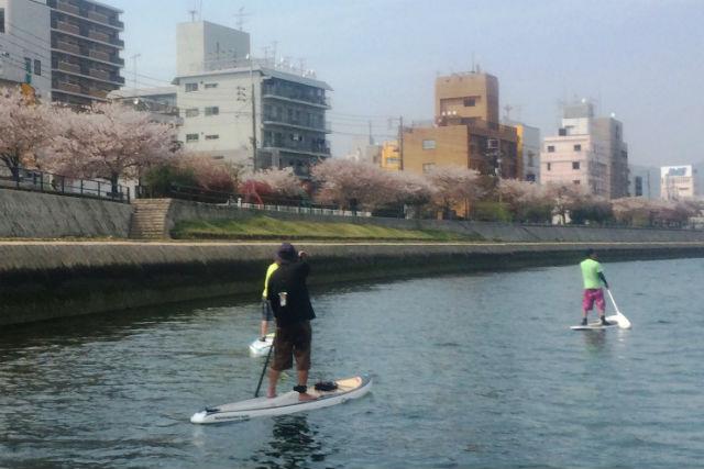 【広島市・SUP】のんびりと水上散歩!瀬戸内・SUP体験