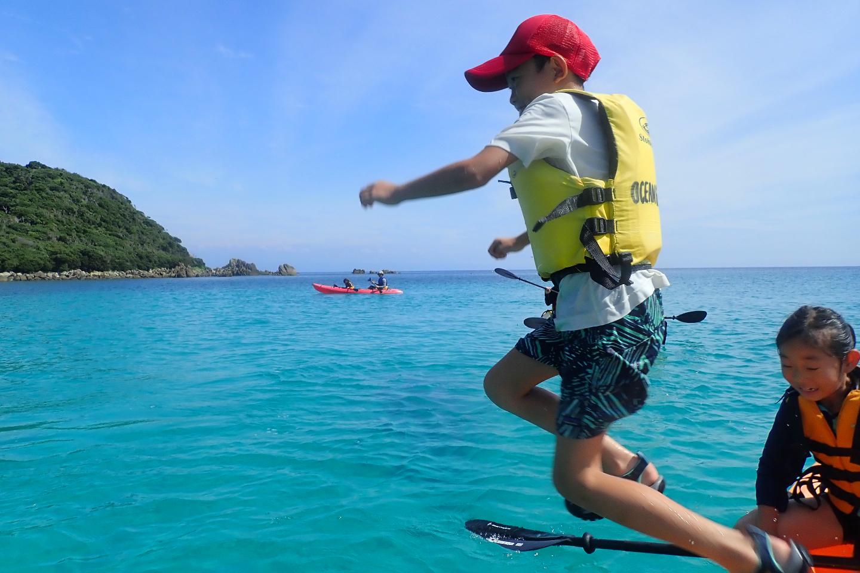 【半日・午前or午後】シーカヤックで種子島の海を楽しもう!