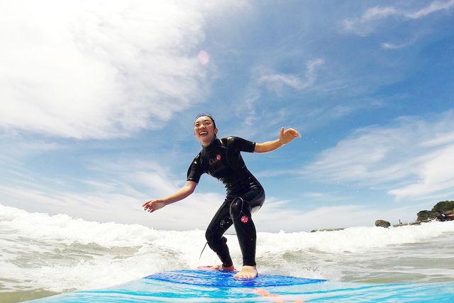 【広島・サーフィン体験】初心者歓迎!日本海のきれいな海でサーフィン・SUPサーフィン体験しよう!(半日)