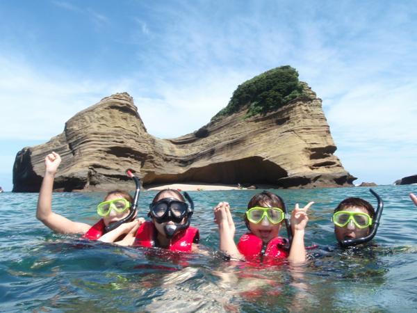 【1時間】気軽に満喫!種子島の美しい海★シュノーケリング体験