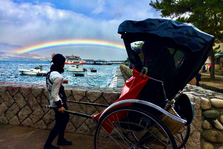 【広島・宮島・人力車・30分貸切】宮島をじっくり楽しむ時間貸し切りプラン