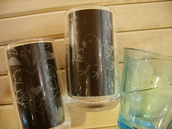 【埼玉・川越・彫り絵ガラス】デザインは無限大!ガラスに思い出を刻もう
