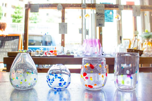 杉並区・浜田山駅から徒歩5分!8種類の色ガラスから作れるカラフルな吹きガラス体験(箸置きorペーパーウェイトの特典付き!)