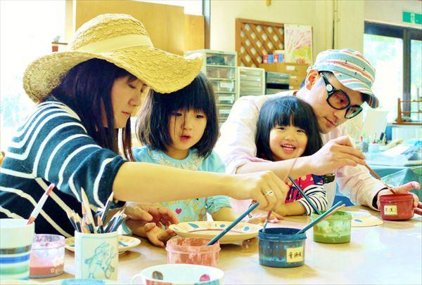 【埼玉・陶芸体験・絵付け】3歳からOK!お絵かき感覚で楽しめるオリジナル陶器作り