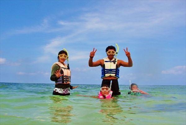【宮古島・シーカヤック&シュノーケリング・1日】宮古島の海を満喫!お弁当つきのんびり1日ツアー