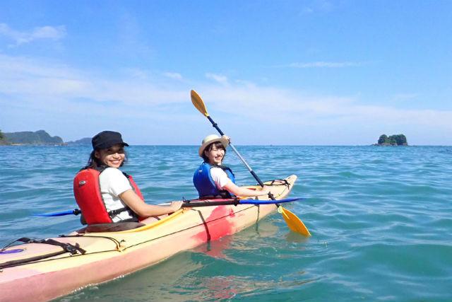 【高知・シーカヤック・半日】のんびり派におすすめ!穏やかな海でまったり安和プラン
