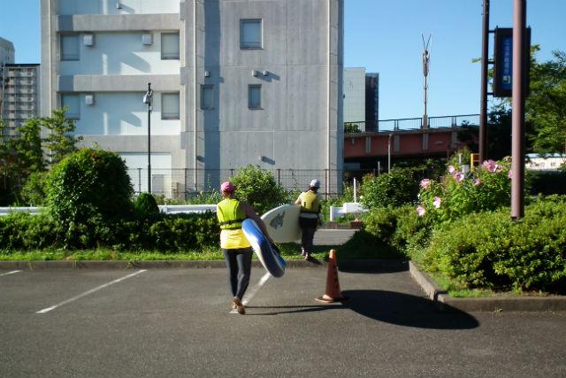 小松川公園 駐車場
