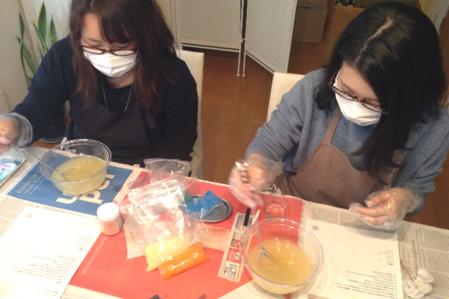 【東京・池袋・手作り石鹸教室】5つの香りから選べる!手作りアロマ石鹸・体験プラン