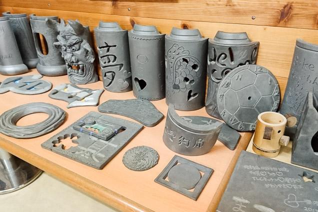 淡路島・瓦粘土彫刻体験(1時間)