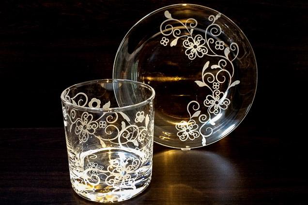 小平駅徒歩5分!サンドブラストで透きガラスの食器作り(3時間)