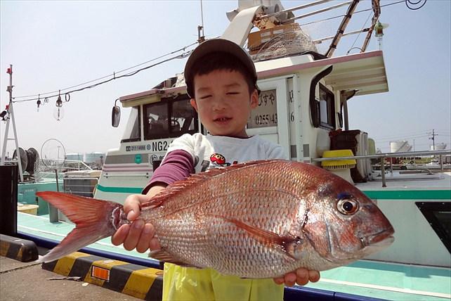 【新潟直江津港・早朝船釣り体験】海水魚の王様・マダイ狙いの船釣り体験