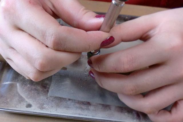 【プレミアムコース】岡山・銀粘土で作るシルバーアクセサリー(リング・ピアスなど)