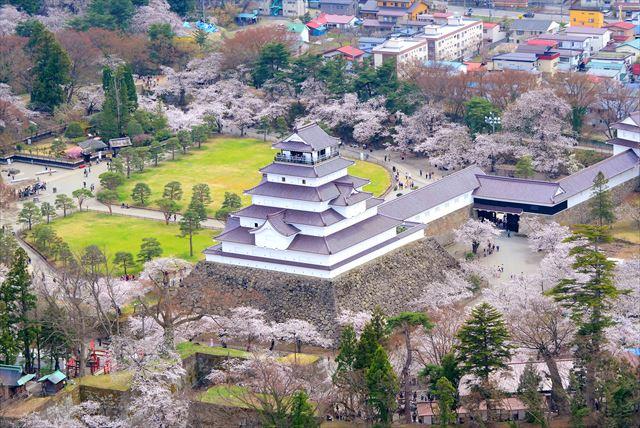 【福島・ ヘリコプター遊覧】上空から会津の景色を一望!ヘリコプター市内周遊プラン