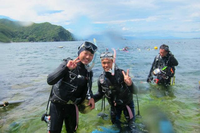 【静岡・富戸・体験ダイビング】東伊豆の美しい海に潜ろう!体験ダイビングプラン
