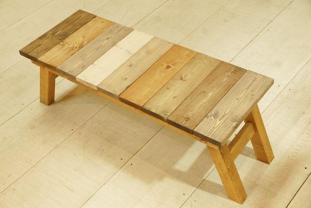【大阪・木工教室】用途多彩な折りたたみコラージュベンチ作り(1個)