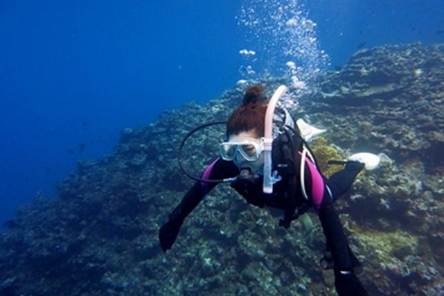【石垣島・体験ダイビング】お昼までのお気軽プラン!お子さまにもおすすめ!