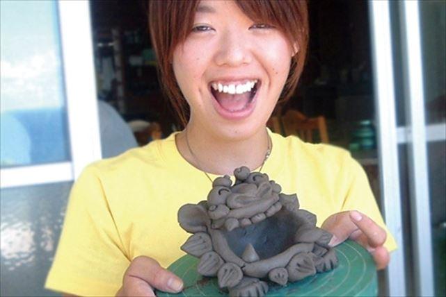 【沖縄県宮古島・陶芸体験】オリジナルシーサーを手作りしよう!気軽に本格陶芸体験