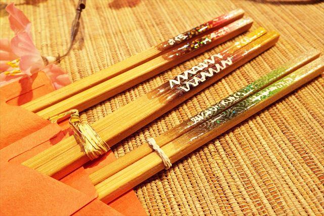 【兵庫県神戸市・手作り和雑貨】和柄のお箸で、日々の食事を楽しく!マイお箸作り