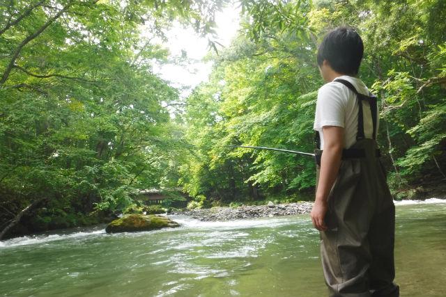 青森・八戸・川釣り体験(8時間・写真データ付)