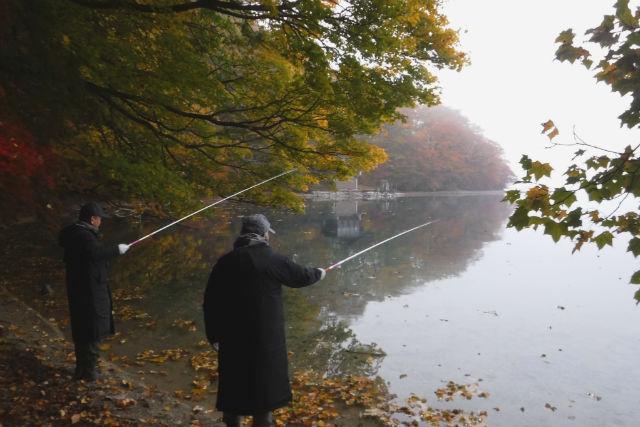 【青森・十和田湖・釣り体験】秋季限定!十和田湖でヒメマス釣り