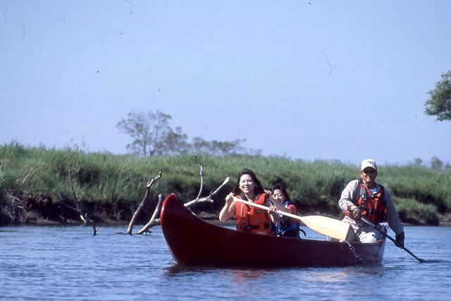 【釧路・カヌー】アレキナイ川往復カヌーツーリング!気軽に楽しめる、1時間のカヌー体験