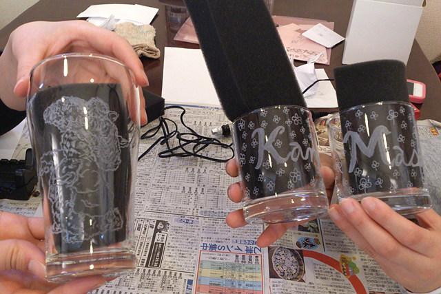 【岐阜・ガラス工芸】気分はまるでプロのアーティスト!ガラス彫刻体験!