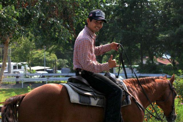 【山梨・小淵沢・経験者向け・乗馬体験】じっくり外乗を楽しみたい方のための60分コース!