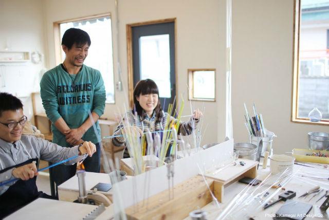 【新潟市・とんぼ玉】選べる色は30種類!色とりどりのとんぼ玉を作ろう
