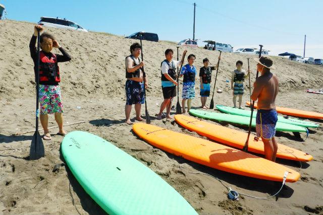 【新潟県・柏崎市・SUP体験】話題のSUPをお気軽体験!SUPで海遊びを満喫しよう!
