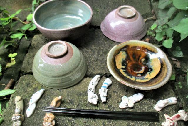 【東京・町田・電動ろくろ】作陶歴34年の陶芸家に学ぶマイ食器と箸置き作り(1セット)