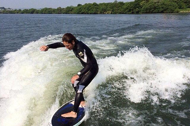 【岡山県倉敷市・ウェイクサーフィン】初めての方も、必ず立てます!ウェイクサーフィン体験