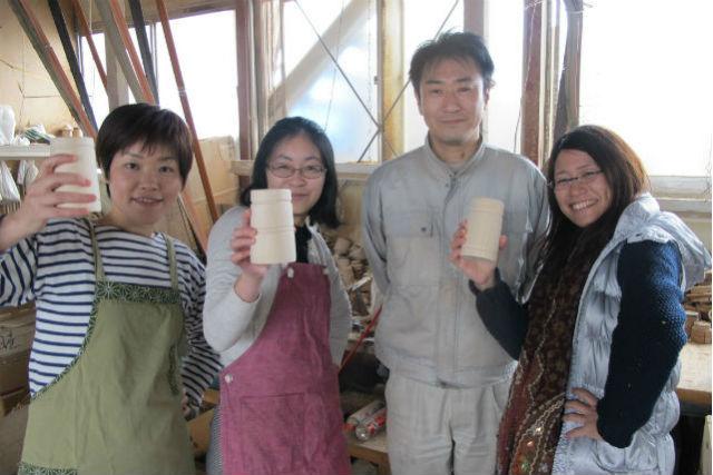 【会津若松・ペン立て作り体験】木地挽きで作る!職人が教える本格ペン立て作り!