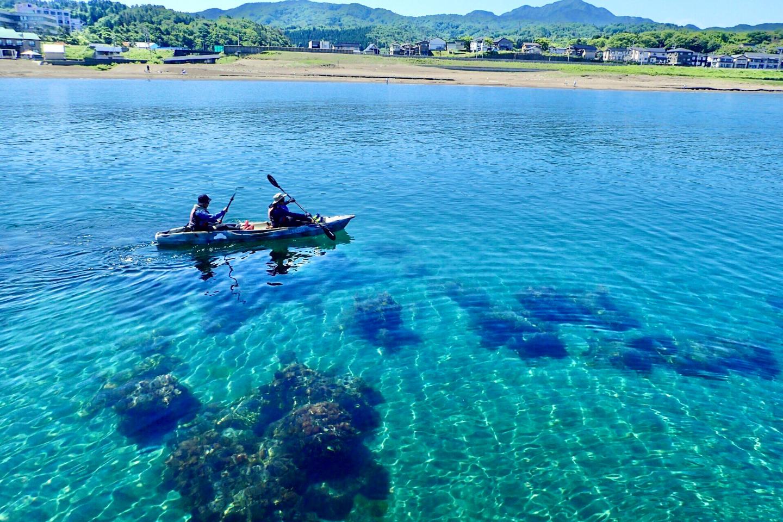 新潟・柏崎市・鯨波海岸・シーカヤック(ガイド付き・カヤックレンタル)