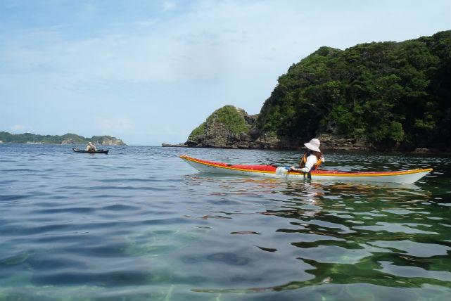 【千葉県いすみ市・カヤック】静かな入り江で、のんびりシーカヤックを体験