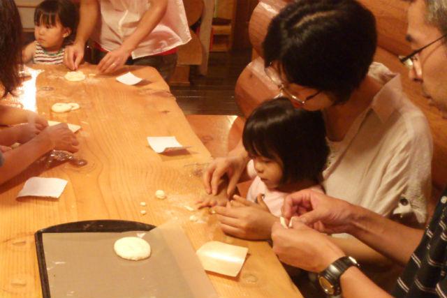 【北軽井沢・料理体験・1泊2日】お子さまにうれしい、本格的なパン作り体験!