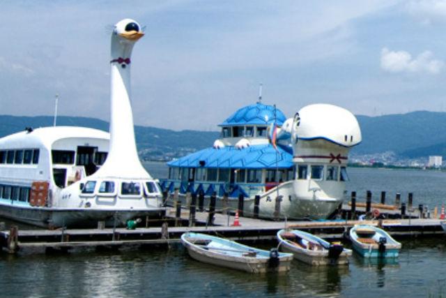 【諏訪湖・クルージング】諏訪湖をぐるりと一周!遊覧船でデイクルージング