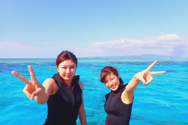 【石垣島・ライセンス講習・3日間】器材レンタル無料!絶景の海で、OWDライセンスを取得!