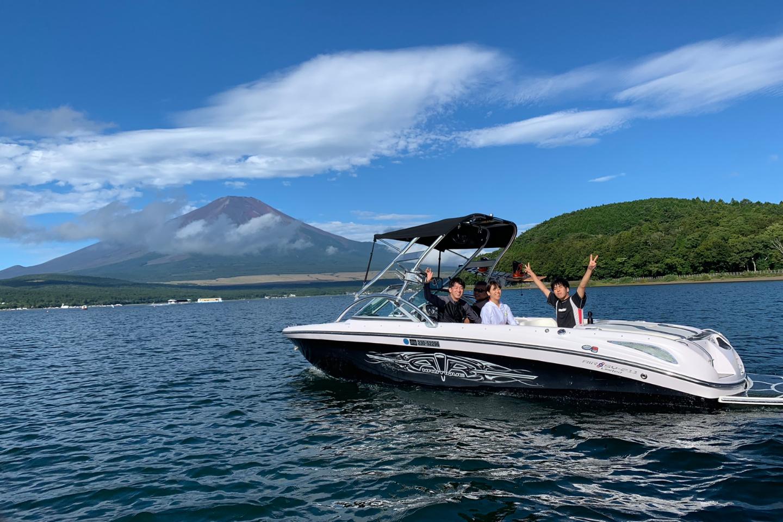 【山中湖・クルージング】富士山を眺めながら山中湖を優雅に遊覧しよう!