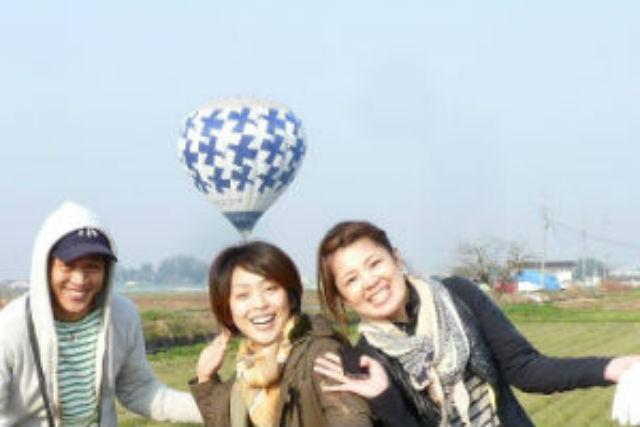 【三重・鈴鹿・熱気球搭乗体験】鈴鹿の絶景を独占!45分のプライベートフライト